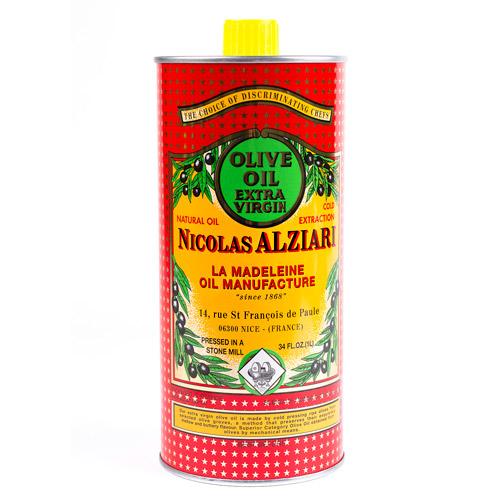 Alziari luomu ekstra-neitsytoliiviöljy 1l cuvée PAULINE punainen