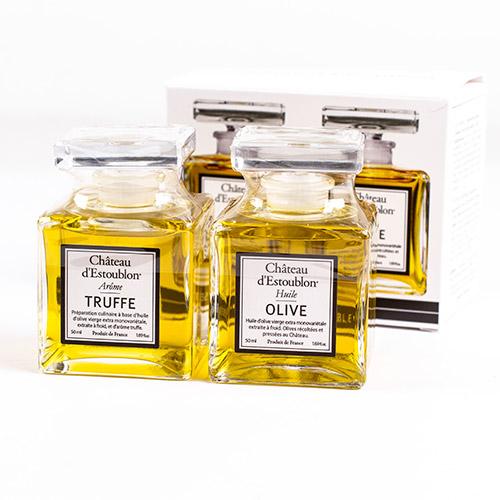 Lahjapakkaus jossa Tryffeli & Oliiviöljy 2x50ml