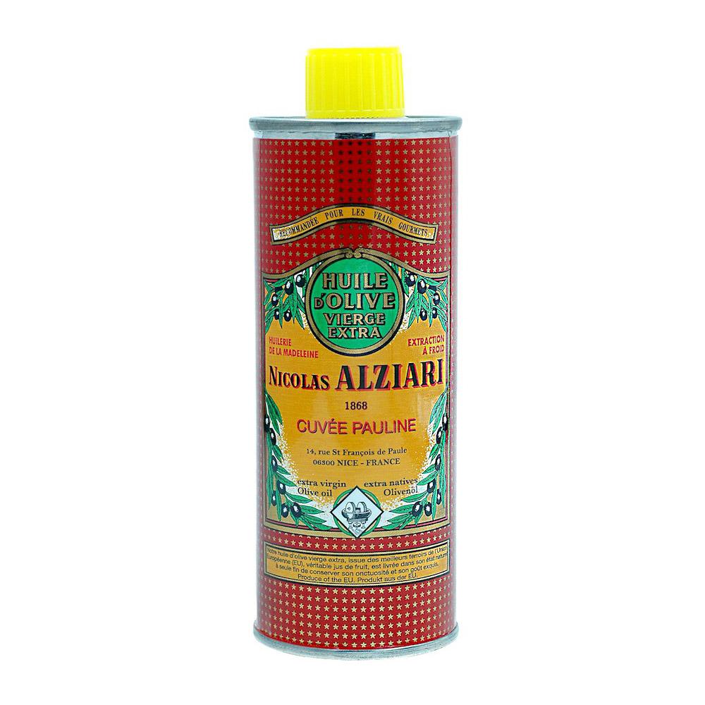 Alziari Ekstra-neitsytoliiviöljy 500ml cuvée PAULINE punainen