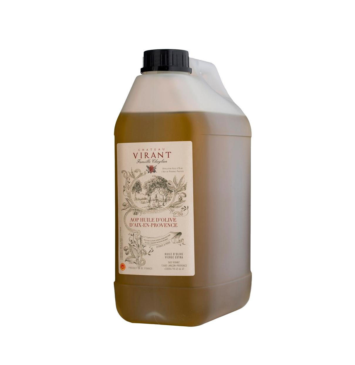 Provence AOP -oliiviöljy, Chateau Virant, 3 l