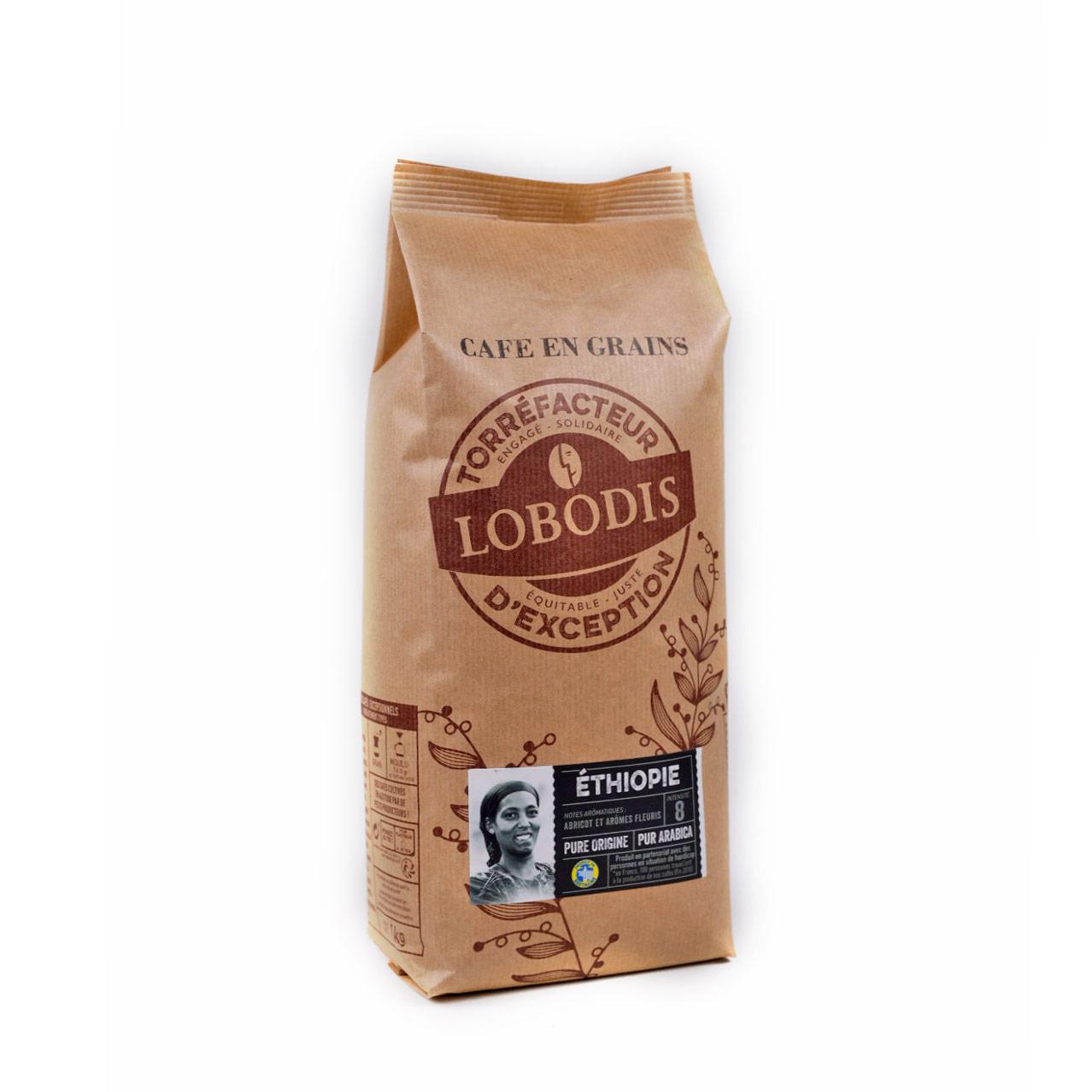 Etiopia Pure Origine kahvipapu 1kg
