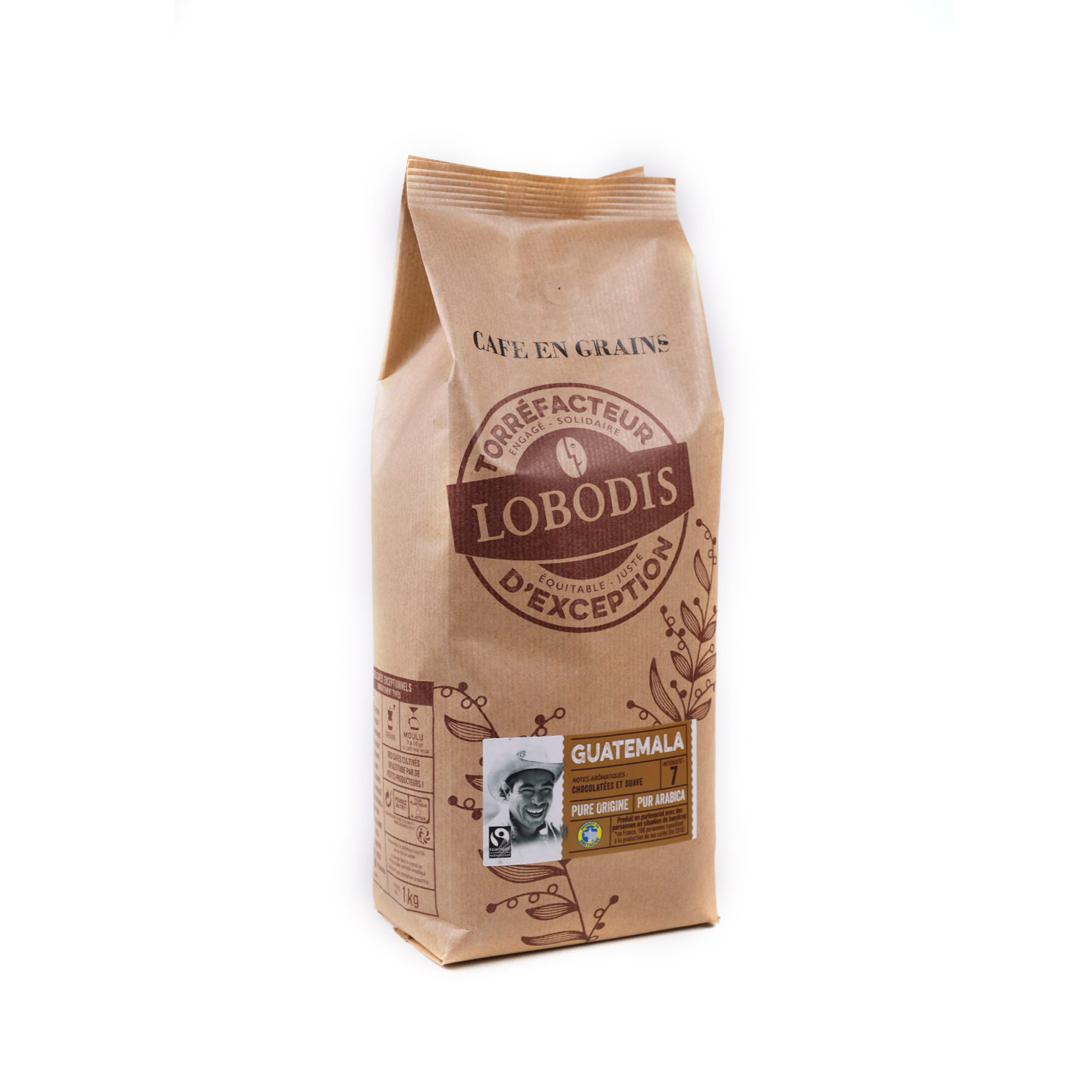 Guatemala reilun kaupan Pure Origine kahvipapu 1kg