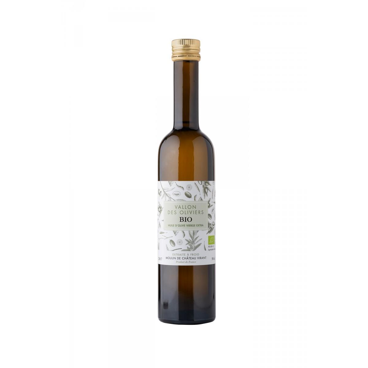 Vallon des Oliviers -luomuoliiviöljy, Chateau Virant, 500 ml