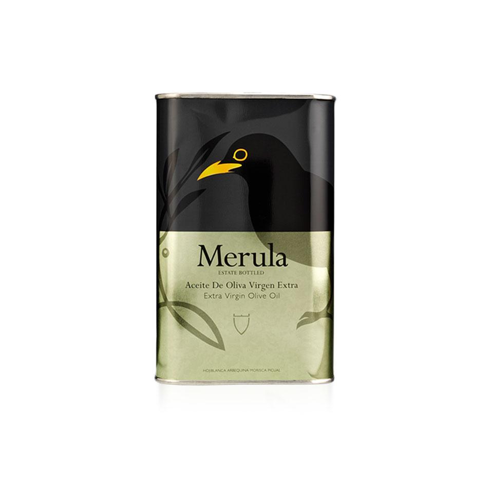 Merula extra virgin oliiviöljy peltikanisteri 500ml